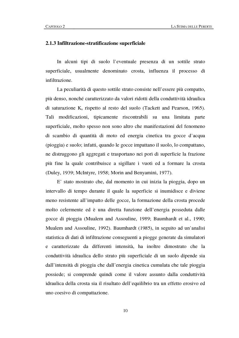 Anteprima della tesi: Sulla rappresentazione geometrica di piccoli bacini idrografici, Pagina 10