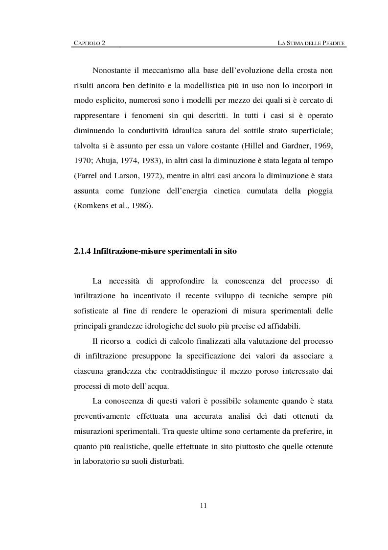 Anteprima della tesi: Sulla rappresentazione geometrica di piccoli bacini idrografici, Pagina 11
