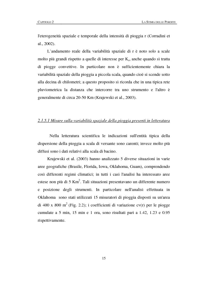 Anteprima della tesi: Sulla rappresentazione geometrica di piccoli bacini idrografici, Pagina 15