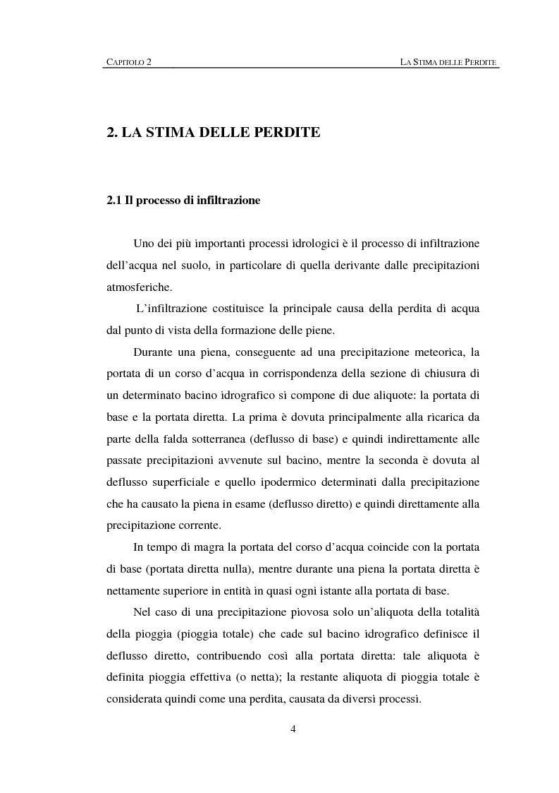 Anteprima della tesi: Sulla rappresentazione geometrica di piccoli bacini idrografici, Pagina 4