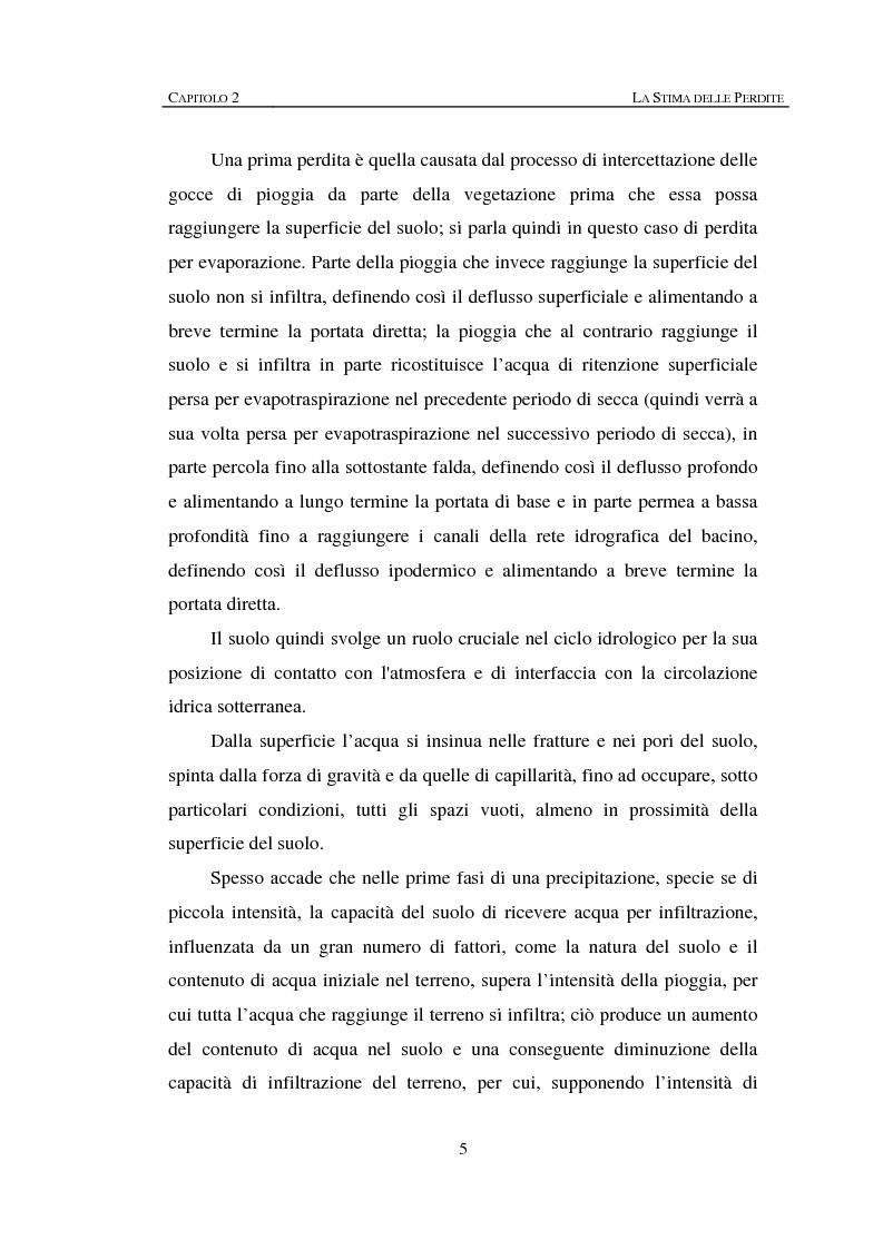 Anteprima della tesi: Sulla rappresentazione geometrica di piccoli bacini idrografici, Pagina 5