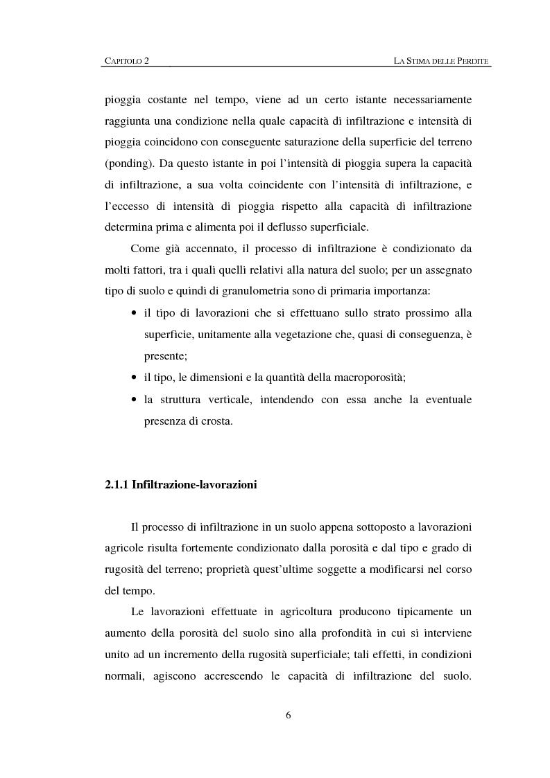 Anteprima della tesi: Sulla rappresentazione geometrica di piccoli bacini idrografici, Pagina 6