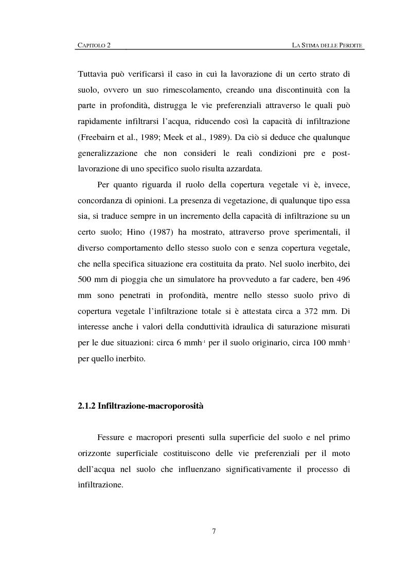 Anteprima della tesi: Sulla rappresentazione geometrica di piccoli bacini idrografici, Pagina 7