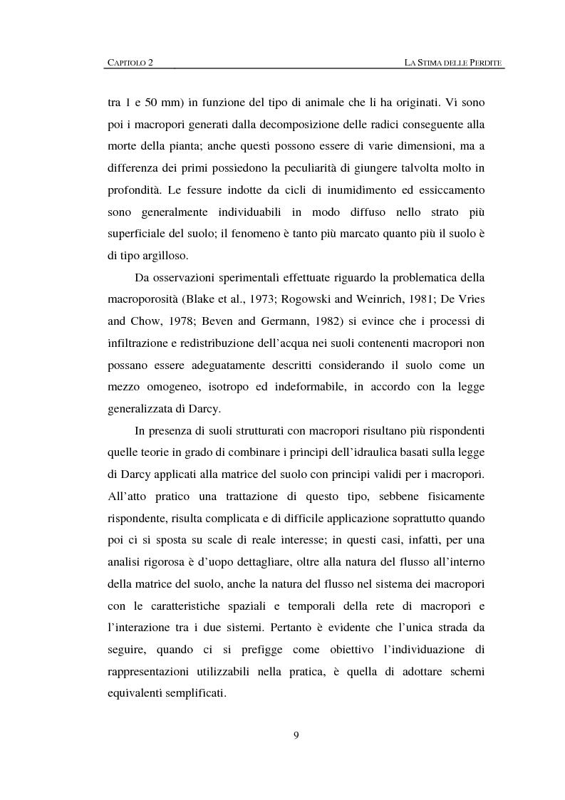 Anteprima della tesi: Sulla rappresentazione geometrica di piccoli bacini idrografici, Pagina 9