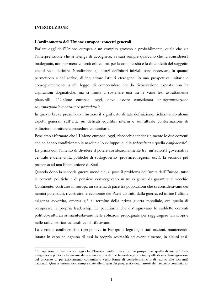 Anteprima della tesi: La Politica Europea di Sicurezza e di Difesa. Dal fallimento della CED al trattato di Lisbona e prospettive di evoluzione., Pagina 1