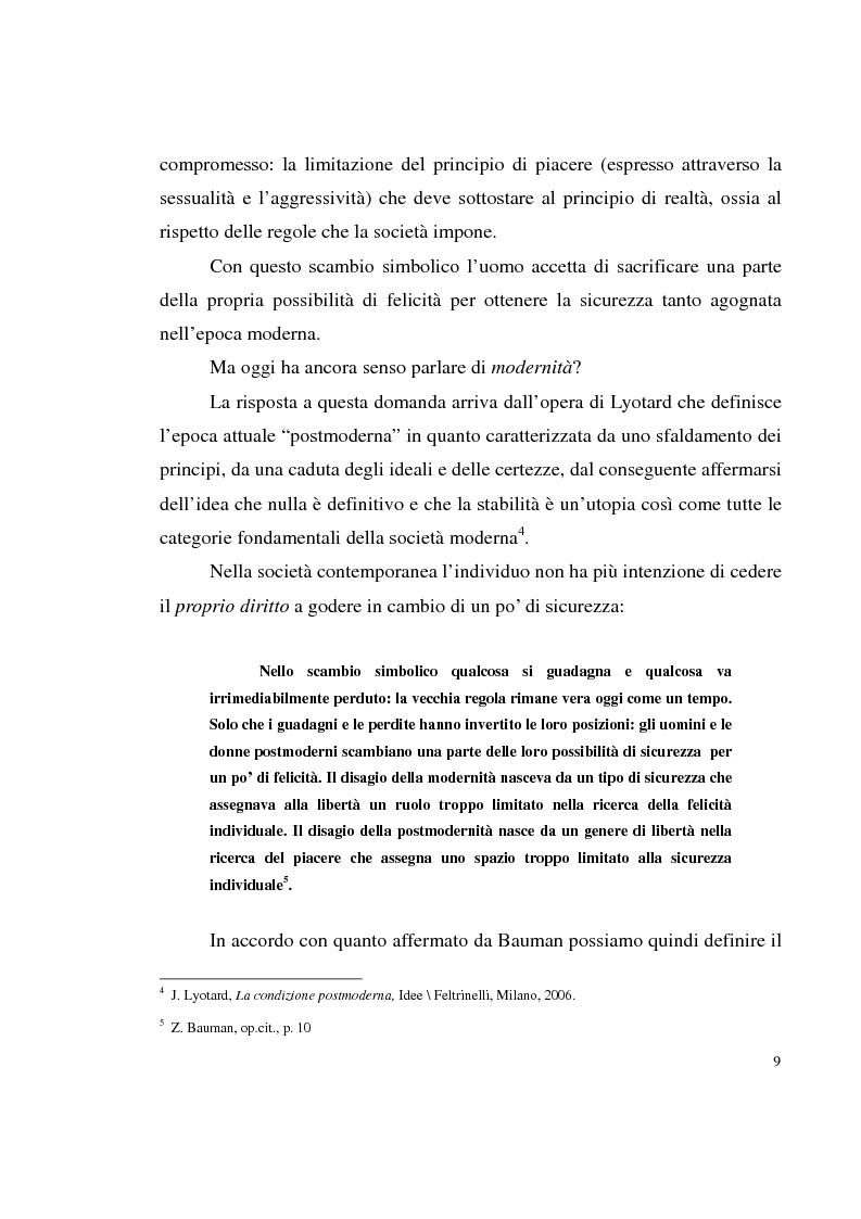 Anteprima della tesi: Shopping compulsivo e gioco d'azzardo - Dinamiche psicologiche di due nuove dipendenze, Pagina 5