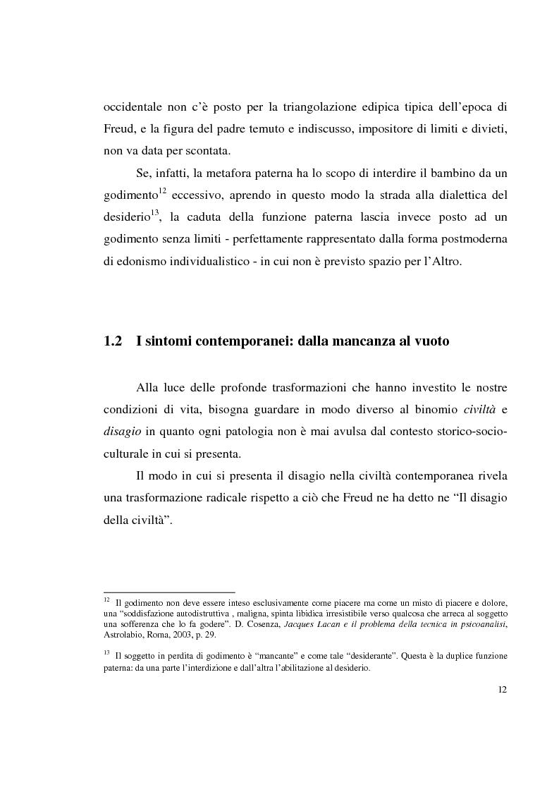 Anteprima della tesi: Shopping compulsivo e gioco d'azzardo - Dinamiche psicologiche di due nuove dipendenze, Pagina 8