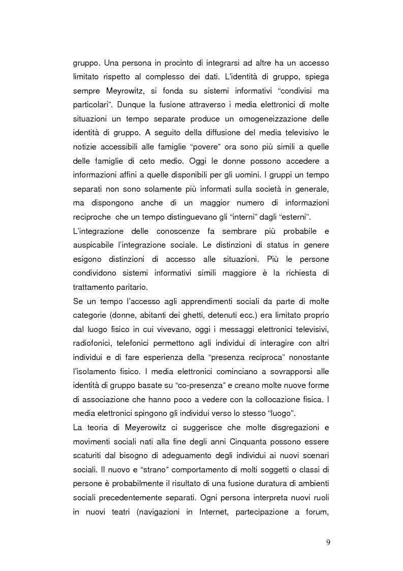 Anteprima della tesi: Internet negli scenari di guerra. Analisi dei possibili cambiamenti sociali. Il caso Iraq., Pagina 6