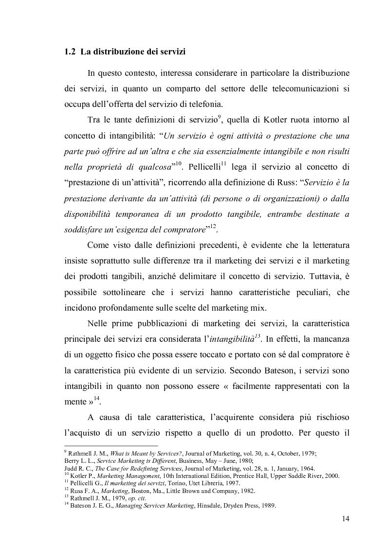 Anteprima della tesi: La multicanalità in un'azienda di telecomunicazioni come strumento di CRM, Pagina 10