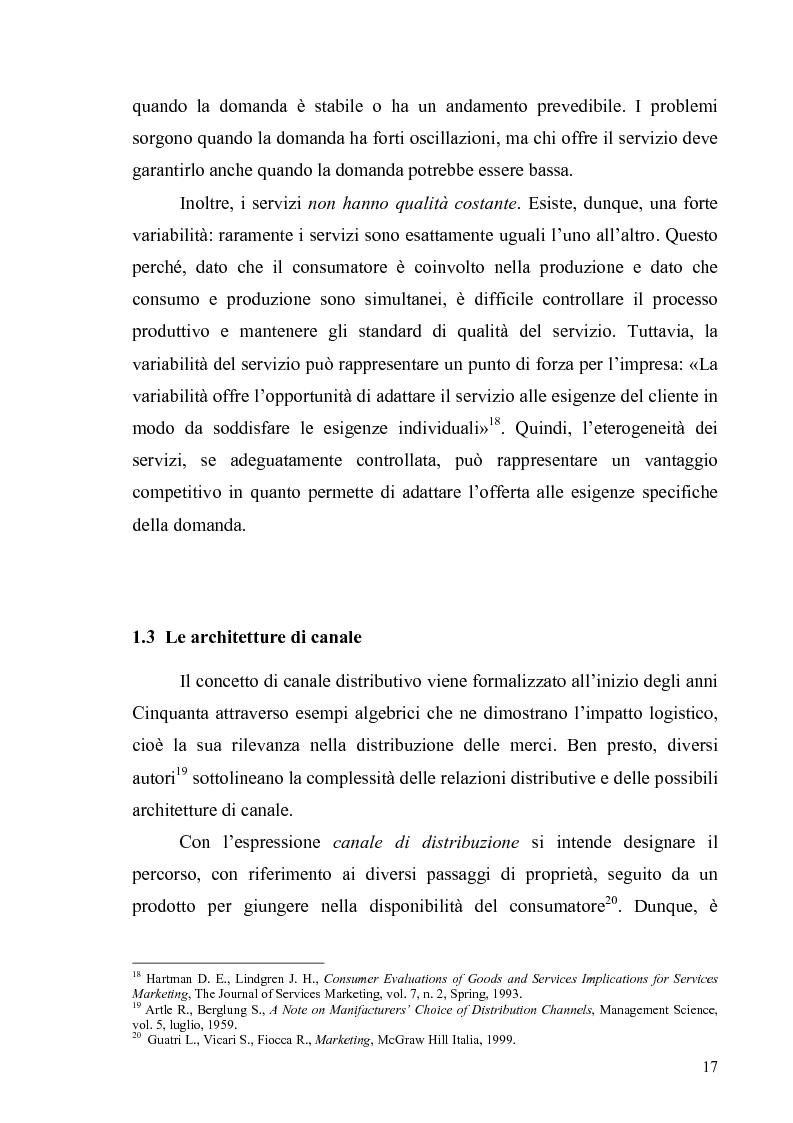 Anteprima della tesi: La multicanalità in un'azienda di telecomunicazioni come strumento di CRM, Pagina 13