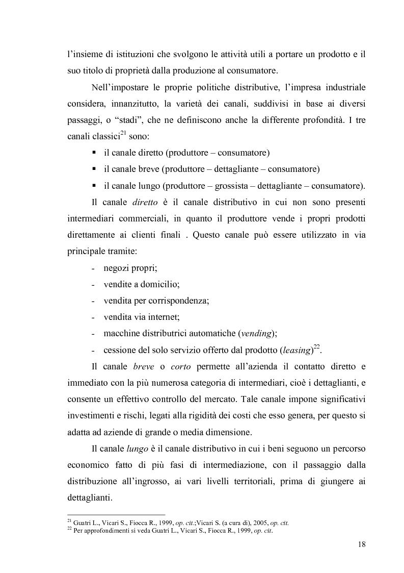 Anteprima della tesi: La multicanalità in un'azienda di telecomunicazioni come strumento di CRM, Pagina 14