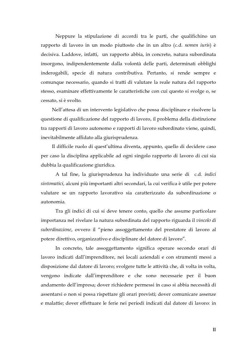 Anteprima della tesi: Autonomia e subordinazione nell'esperienza recente, Pagina 2