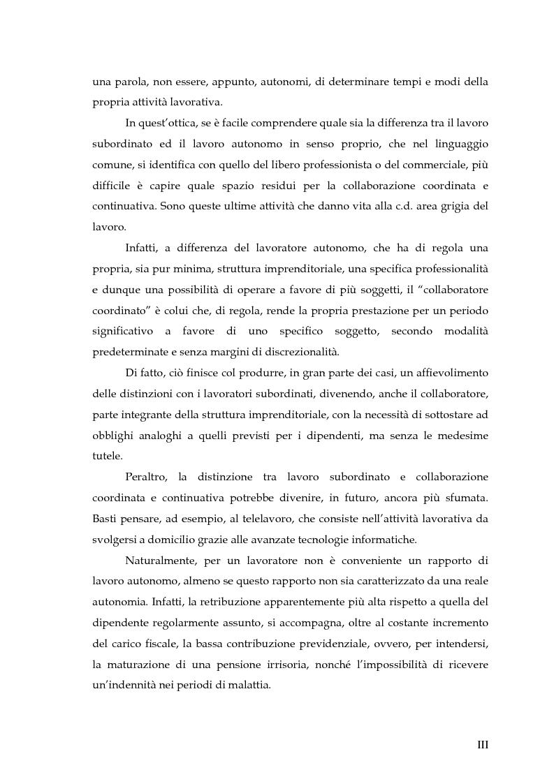 Anteprima della tesi: Autonomia e subordinazione nell'esperienza recente, Pagina 3