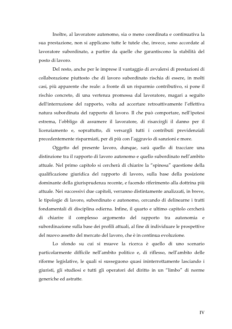 Anteprima della tesi: Autonomia e subordinazione nell'esperienza recente, Pagina 4