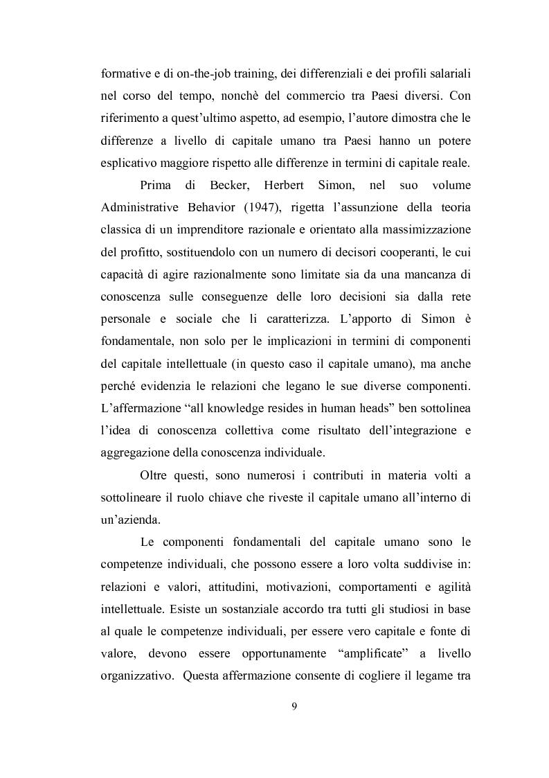 Anteprima della tesi: Capitale intellettuale e strumenti di valutazione, Pagina 7