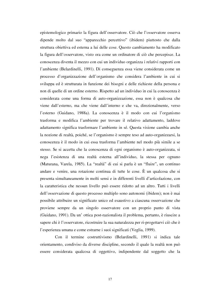 Anteprima della tesi: Un confronto tra l'approccio narrativo in psicologia e nella Teologia Fondamentale, Pagina 10