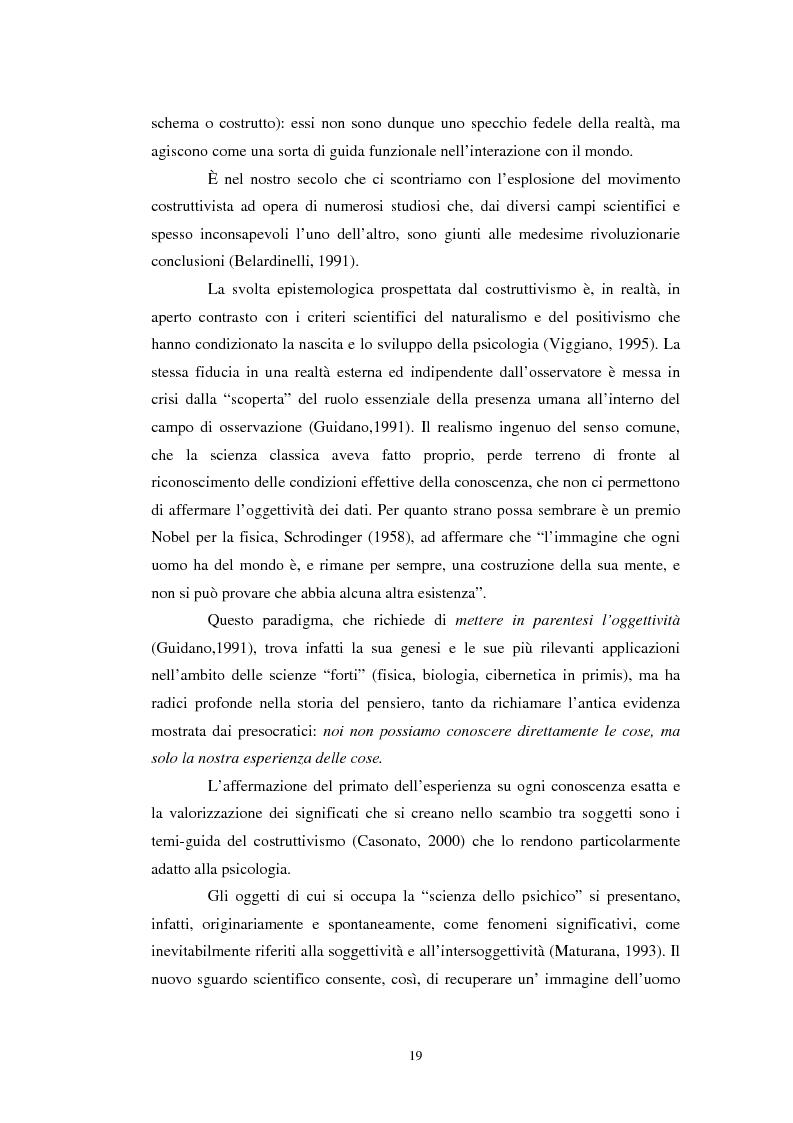 Anteprima della tesi: Un confronto tra l'approccio narrativo in psicologia e nella Teologia Fondamentale, Pagina 12