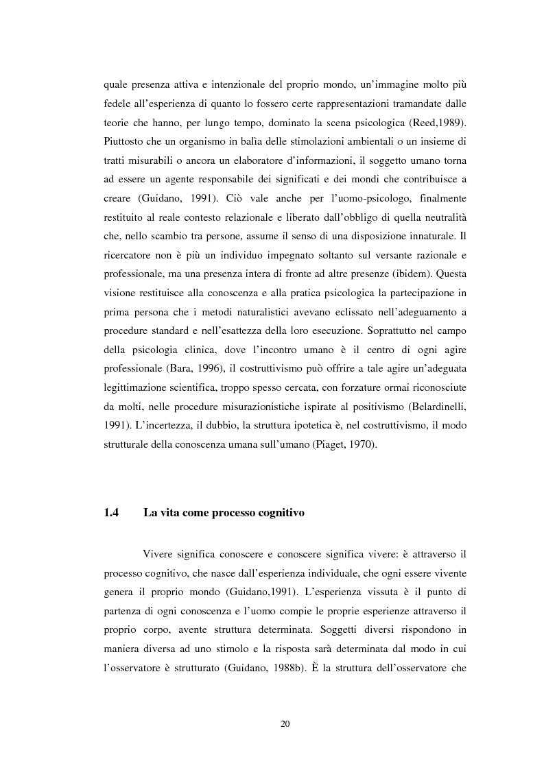 Anteprima della tesi: Un confronto tra l'approccio narrativo in psicologia e nella Teologia Fondamentale, Pagina 13