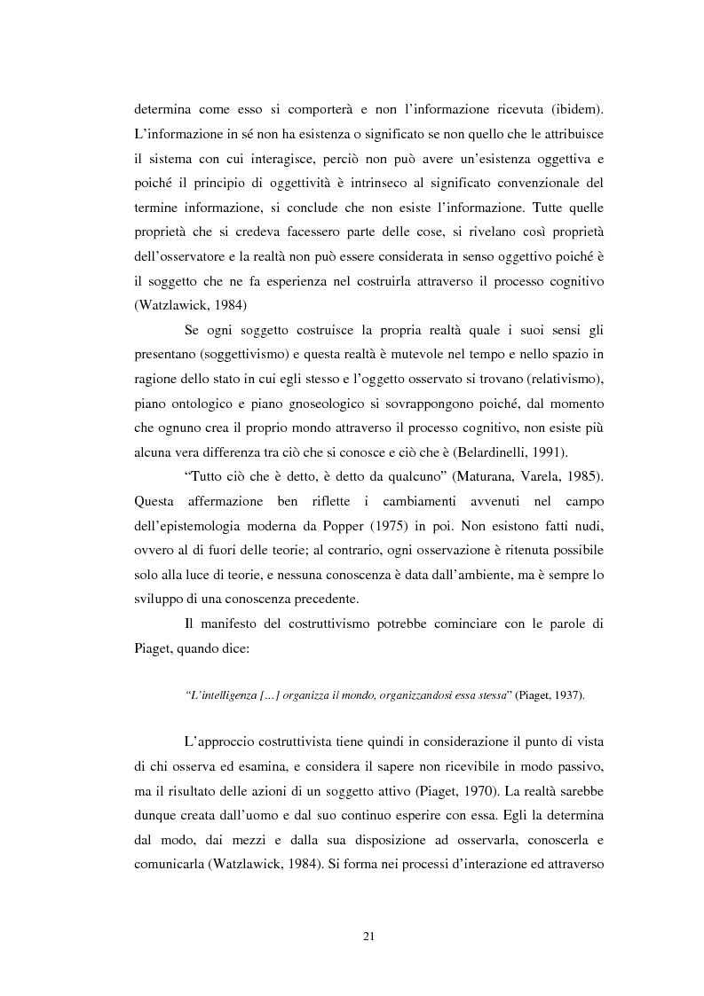 Anteprima della tesi: Un confronto tra l'approccio narrativo in psicologia e nella Teologia Fondamentale, Pagina 14