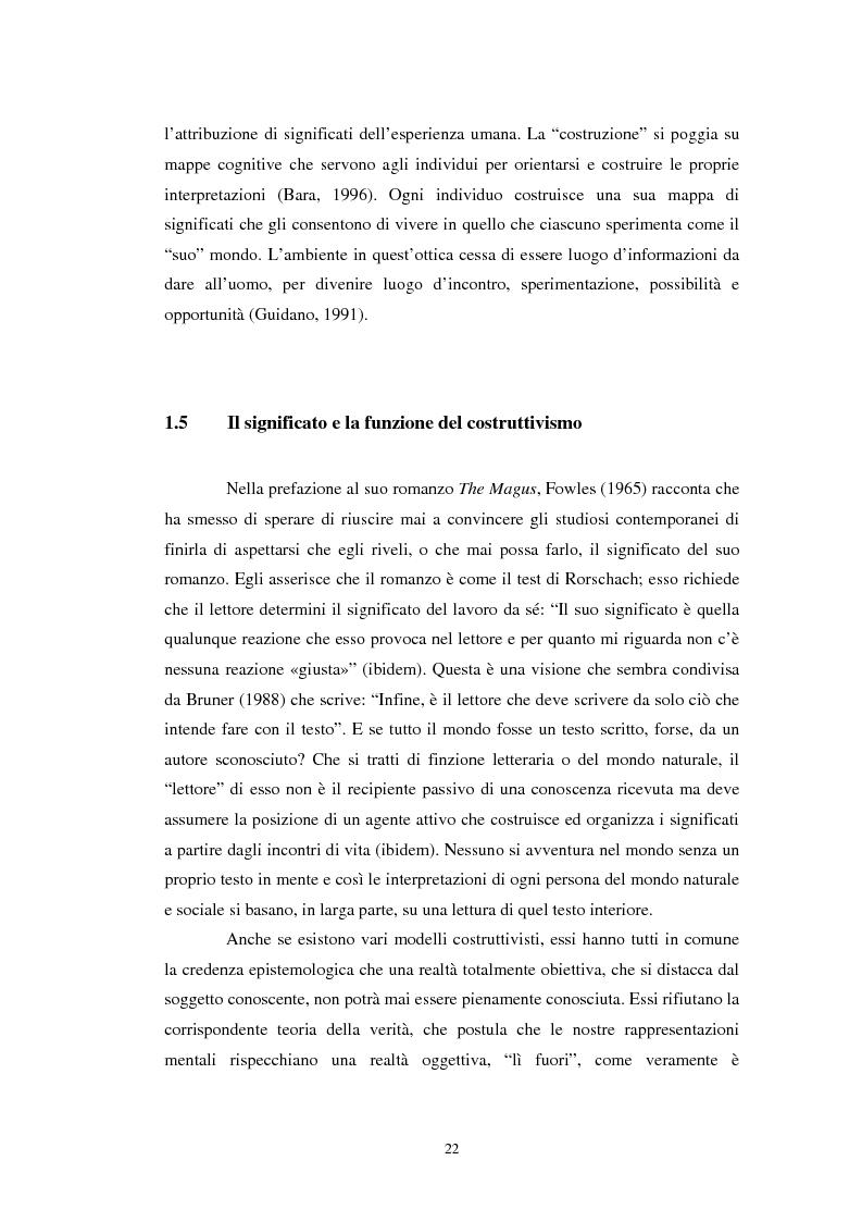 Anteprima della tesi: Un confronto tra l'approccio narrativo in psicologia e nella Teologia Fondamentale, Pagina 15