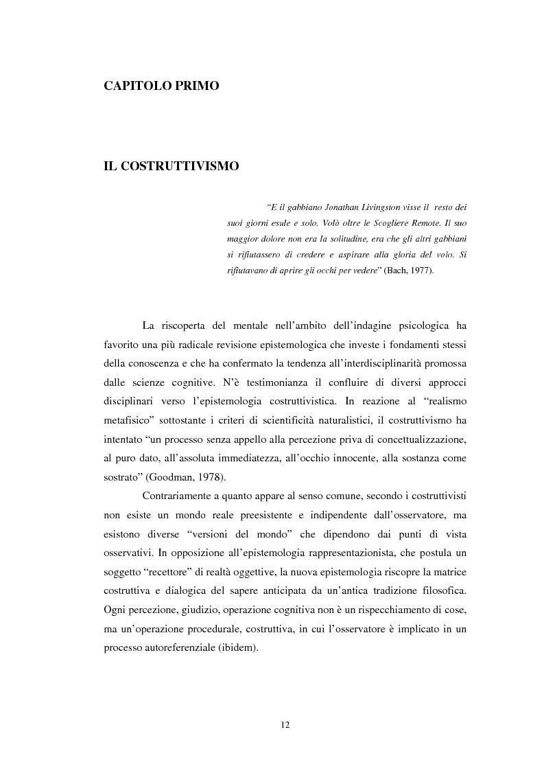 Anteprima della tesi: Un confronto tra l'approccio narrativo in psicologia e nella Teologia Fondamentale, Pagina 5