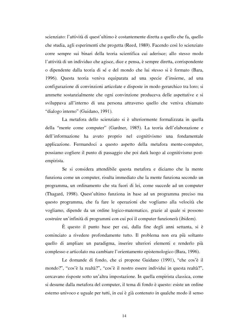 Anteprima della tesi: Un confronto tra l'approccio narrativo in psicologia e nella Teologia Fondamentale, Pagina 7
