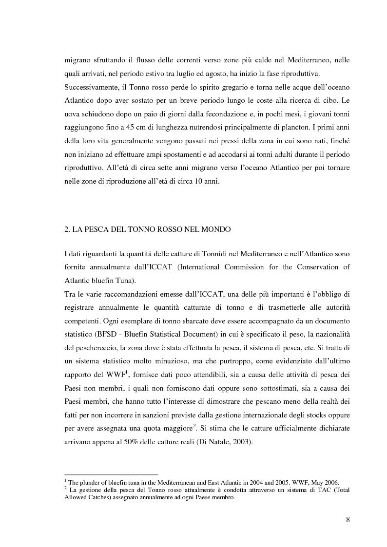 Anteprima della tesi: Pesca e allevamento del tonno rosso: analisi economica della maricoltura, Pagina 3