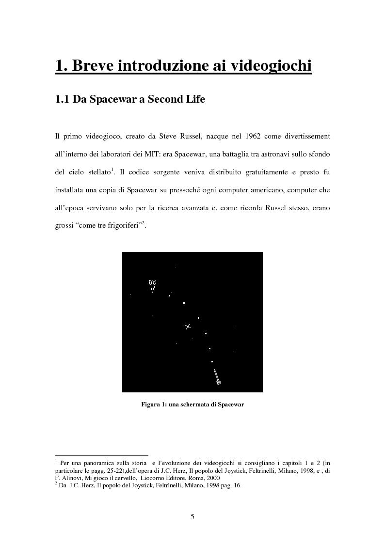 Anteprima della tesi: L'uso del videogioco come strumento di propaganda, Pagina 3