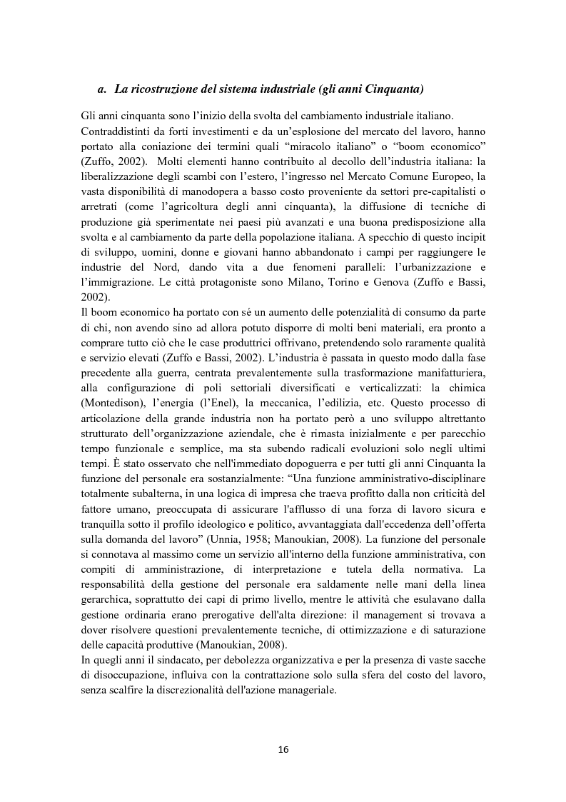 Anteprima della tesi: Criteri di scelta nel processo di selezione del personale: un'analisi empirica, Pagina 10