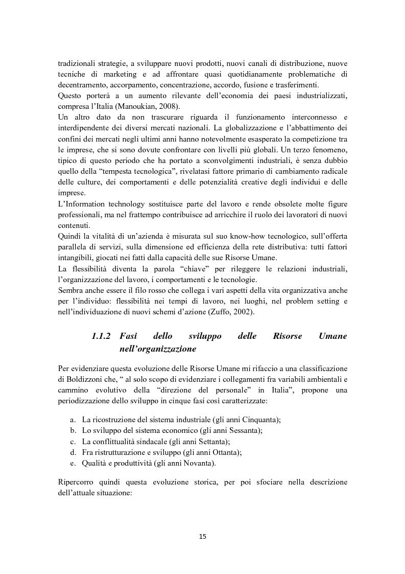 Anteprima della tesi: Criteri di scelta nel processo di selezione del personale: un'analisi empirica, Pagina 9