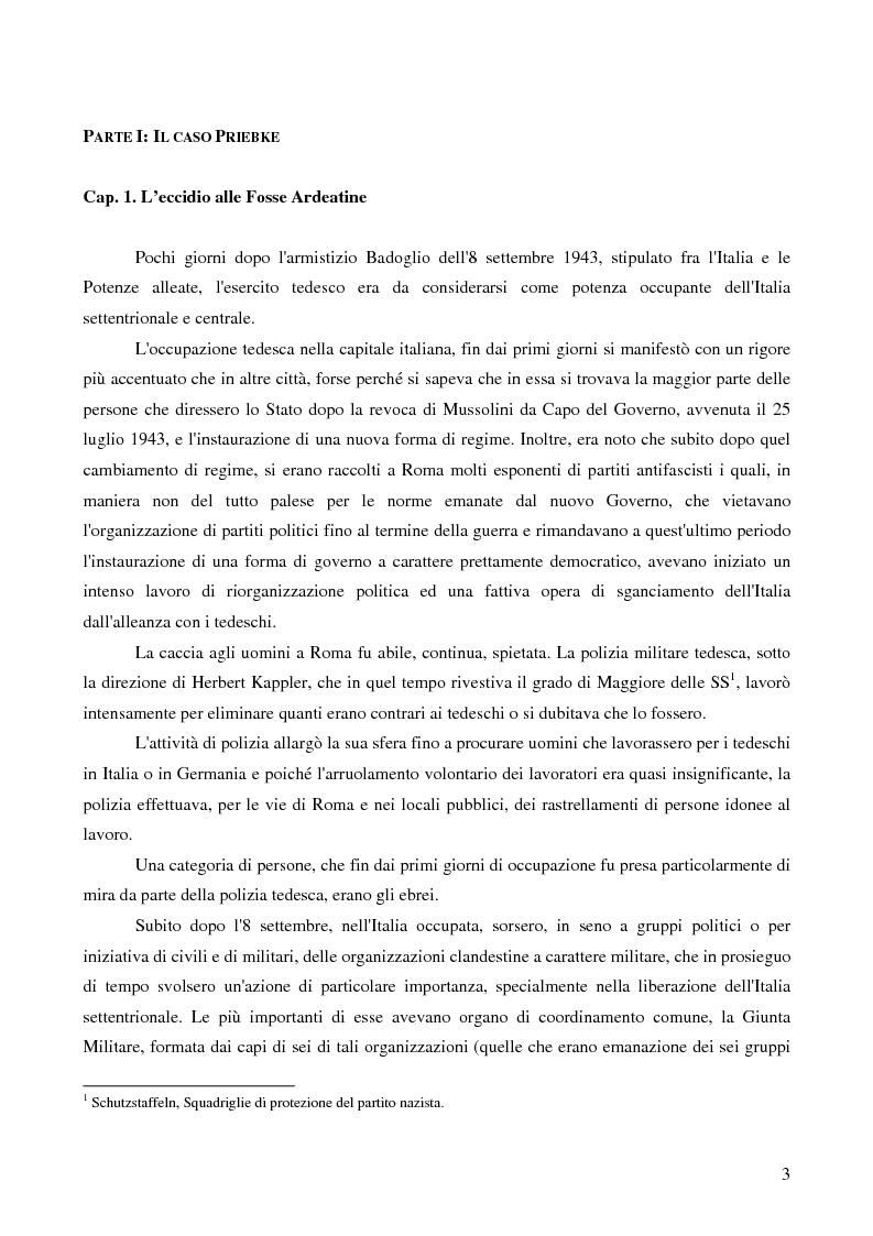 Anteprima della tesi: Crimini internazionali e rilevanza dell'ordine superiore, Pagina 1