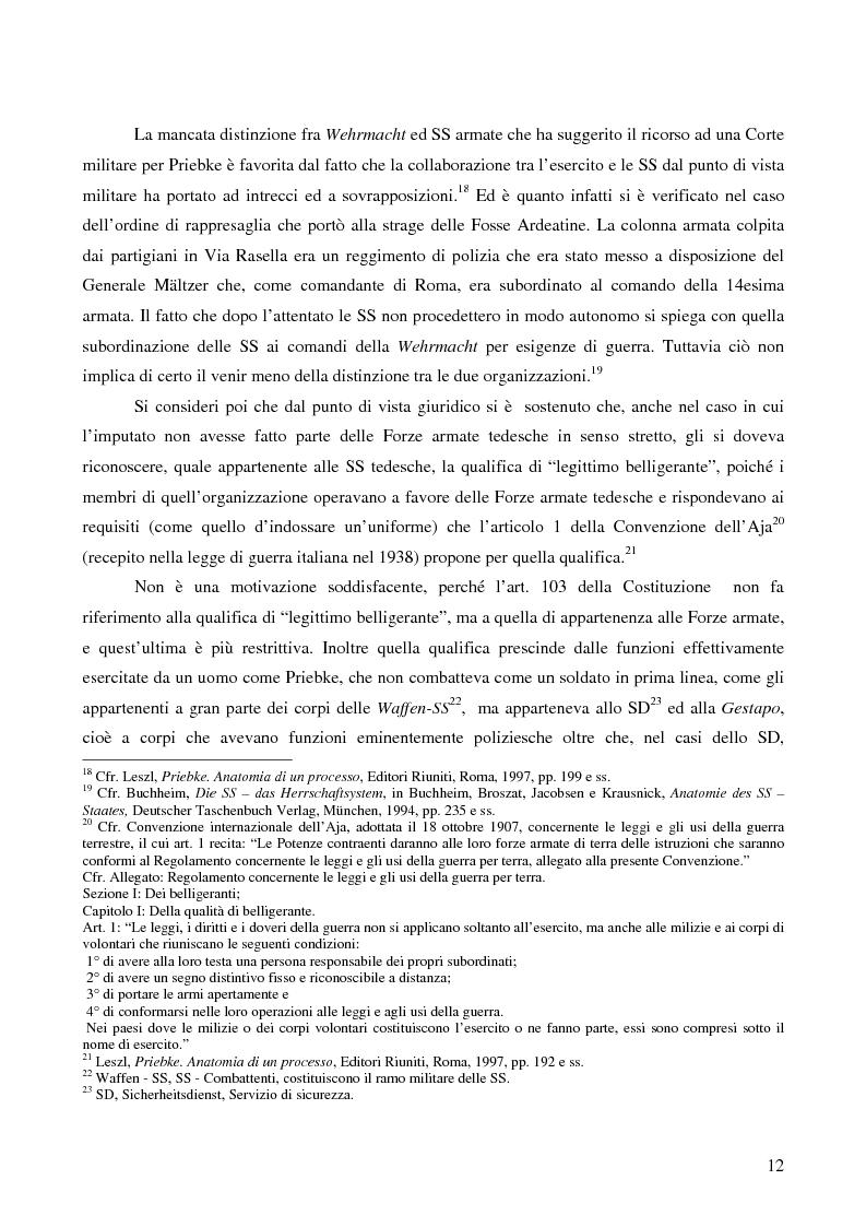 Anteprima della tesi: Crimini internazionali e rilevanza dell'ordine superiore, Pagina 10
