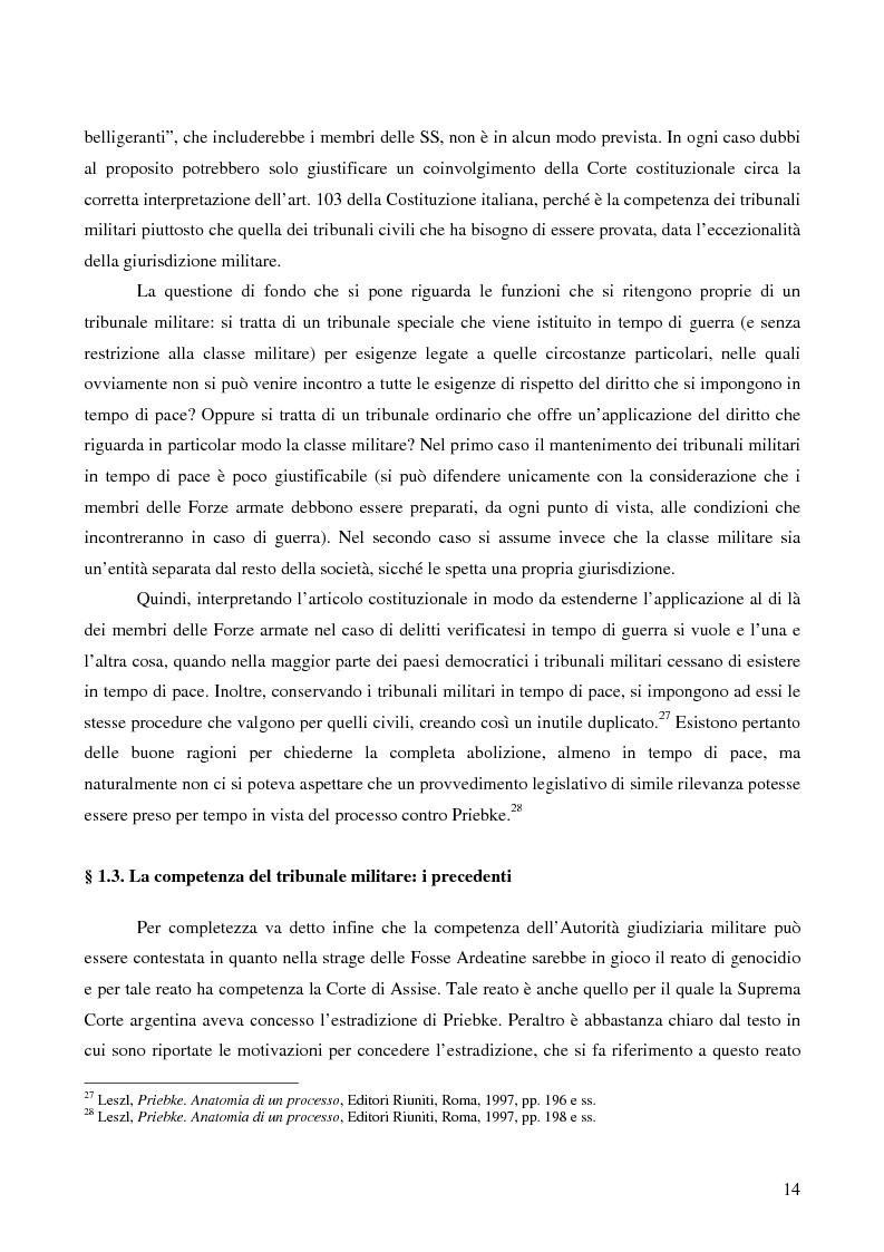 Anteprima della tesi: Crimini internazionali e rilevanza dell'ordine superiore, Pagina 12