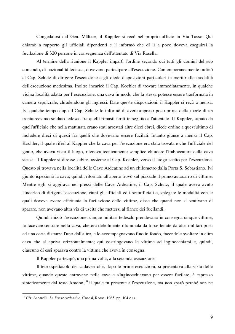 Anteprima della tesi: Crimini internazionali e rilevanza dell'ordine superiore, Pagina 7