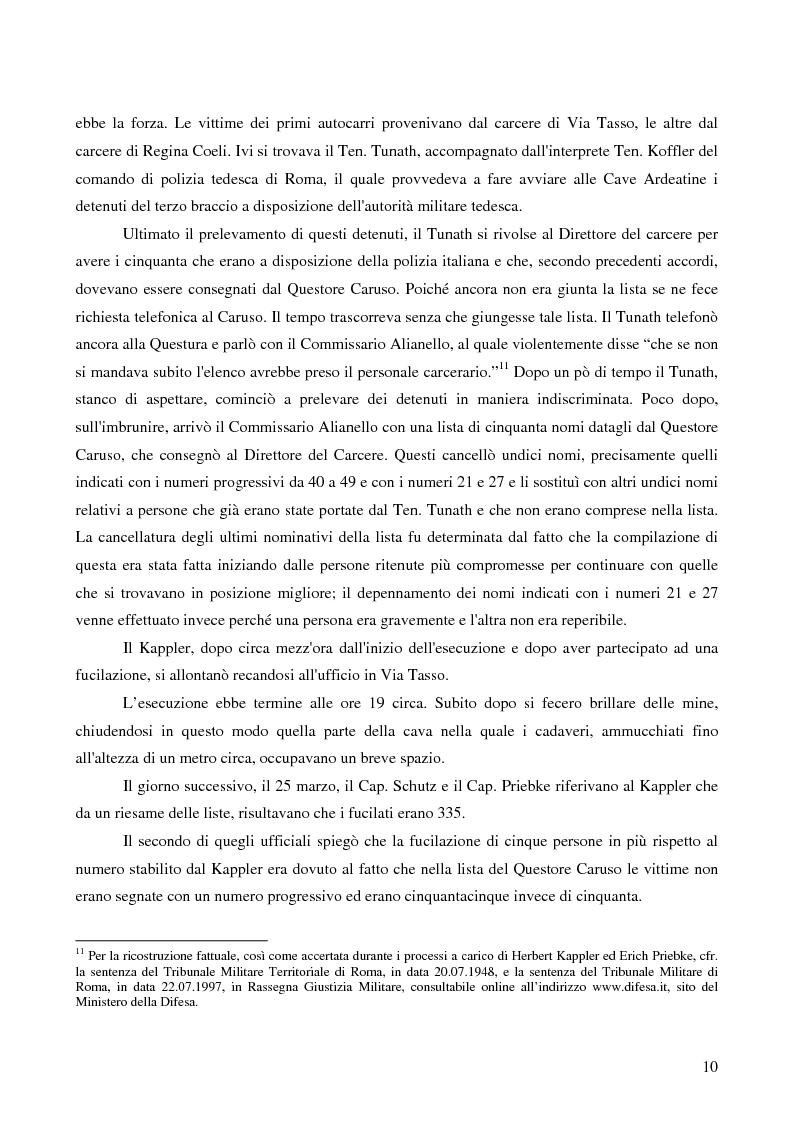 Anteprima della tesi: Crimini internazionali e rilevanza dell'ordine superiore, Pagina 8