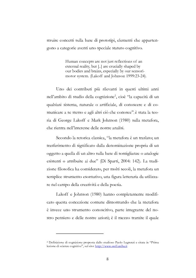 Anteprima della tesi: Metafore del mondo informatico: il computer è un uomo e Internet è la sua società, Pagina 4