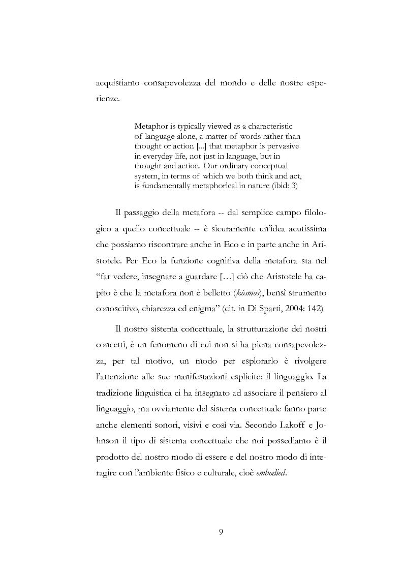 Anteprima della tesi: Metafore del mondo informatico: il computer è un uomo e Internet è la sua società, Pagina 5