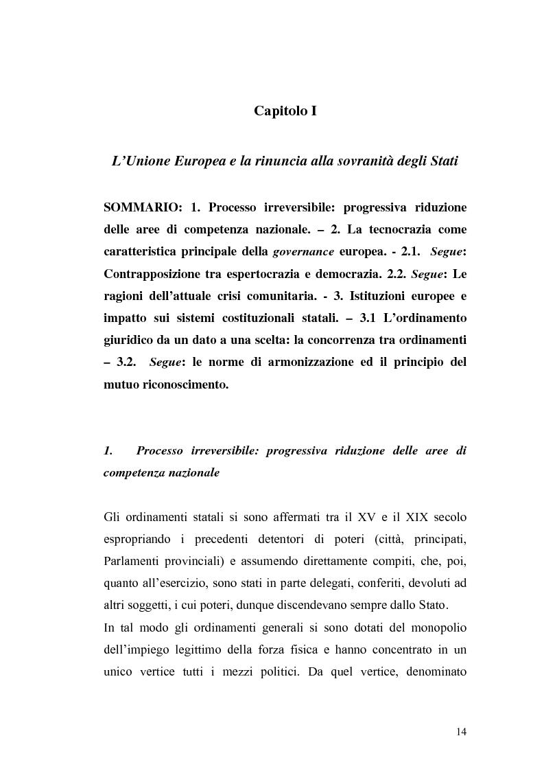 Anteprima della tesi: L'Ue tra allargamento e politiche euromediterranee, Pagina 10