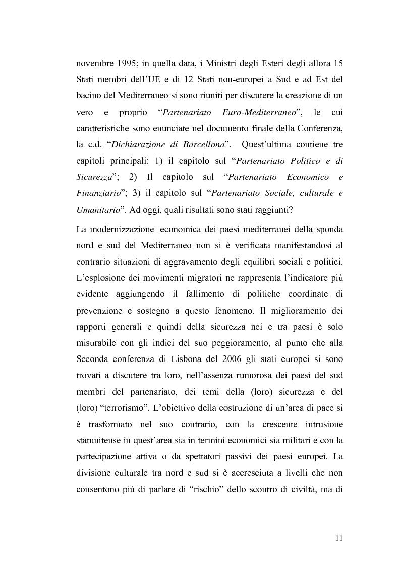 Anteprima della tesi: L'Ue tra allargamento e politiche euromediterranee, Pagina 7