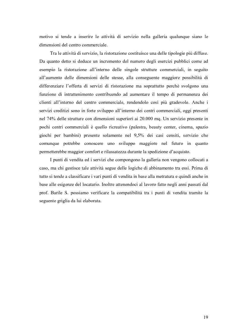 Anteprima della tesi: Le scelte di localizzazione dell'impresa commerciale: il caso del Centro Commerciale Mongolfiera di Molfetta (BA), Pagina 15