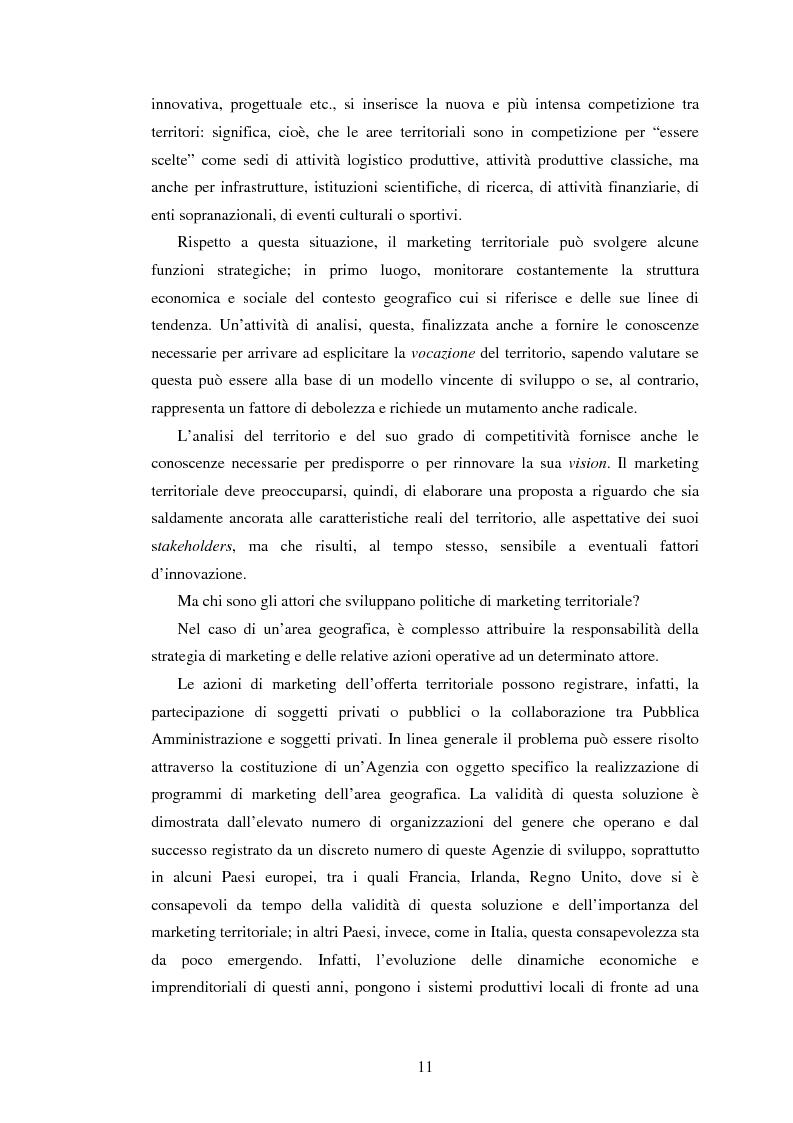 Anteprima della tesi: Marketing territoriale e sviluppo locale: la competitività della provincia dell'Aquila, Pagina 2