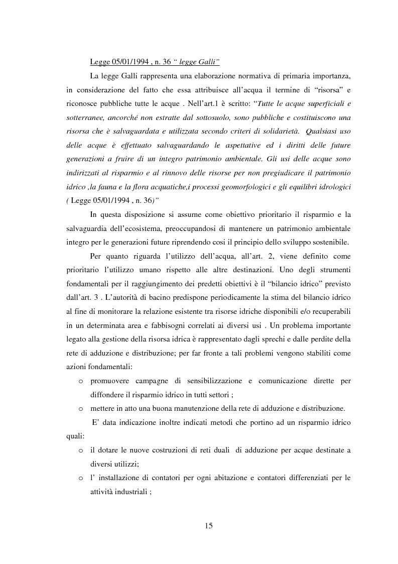 Anteprima della tesi: Bilancio della disponibilità di risorsa idrica nel comune di Albareto (PR), Pagina 10