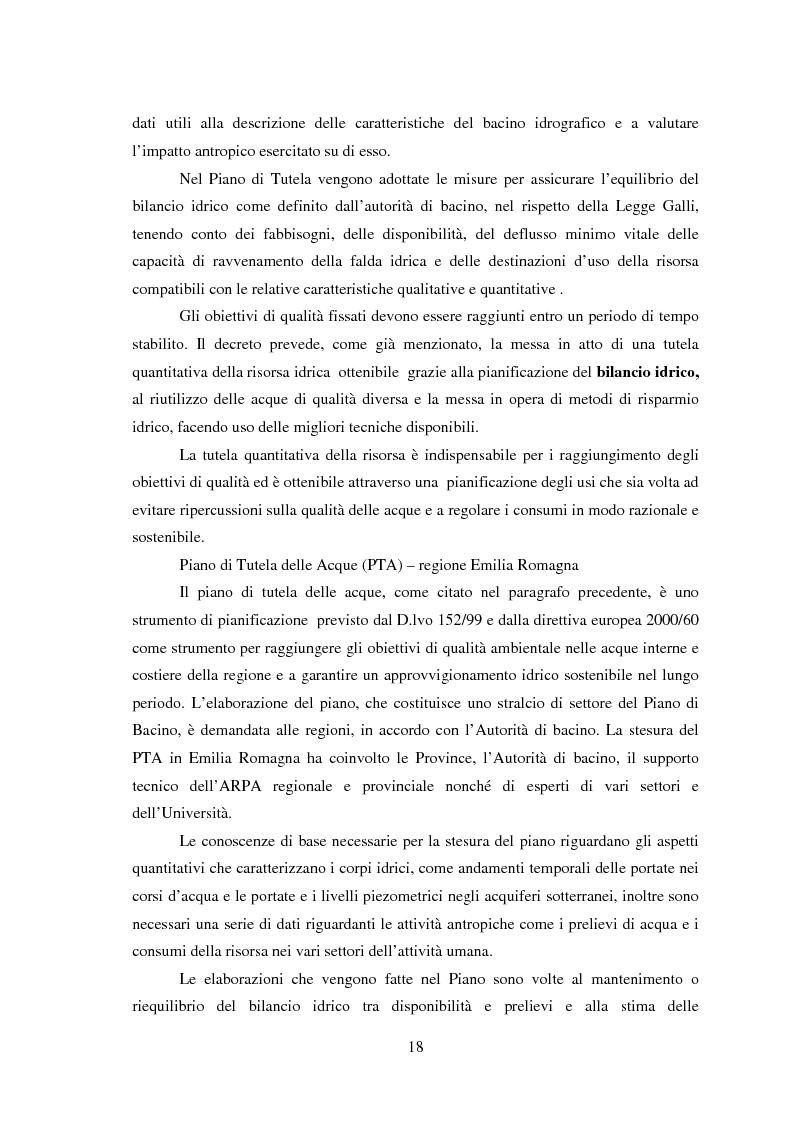 Anteprima della tesi: Bilancio della disponibilità di risorsa idrica nel comune di Albareto (PR), Pagina 13