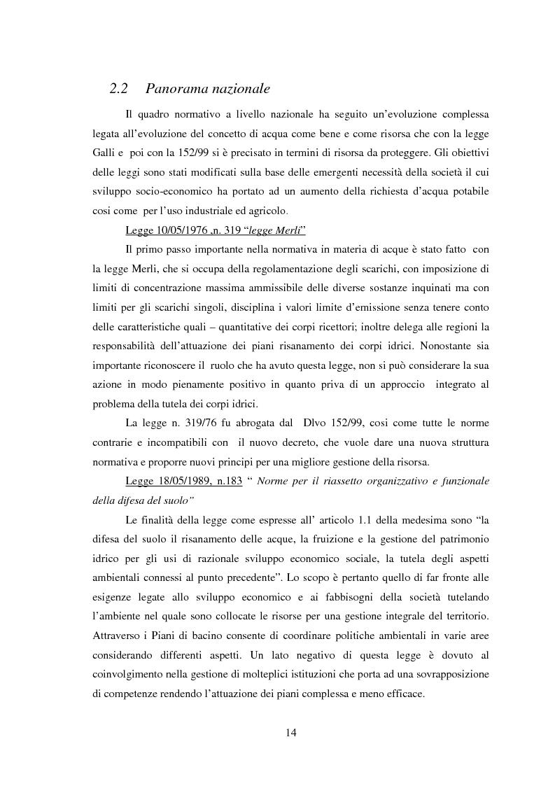 Anteprima della tesi: Bilancio della disponibilità di risorsa idrica nel comune di Albareto (PR), Pagina 9