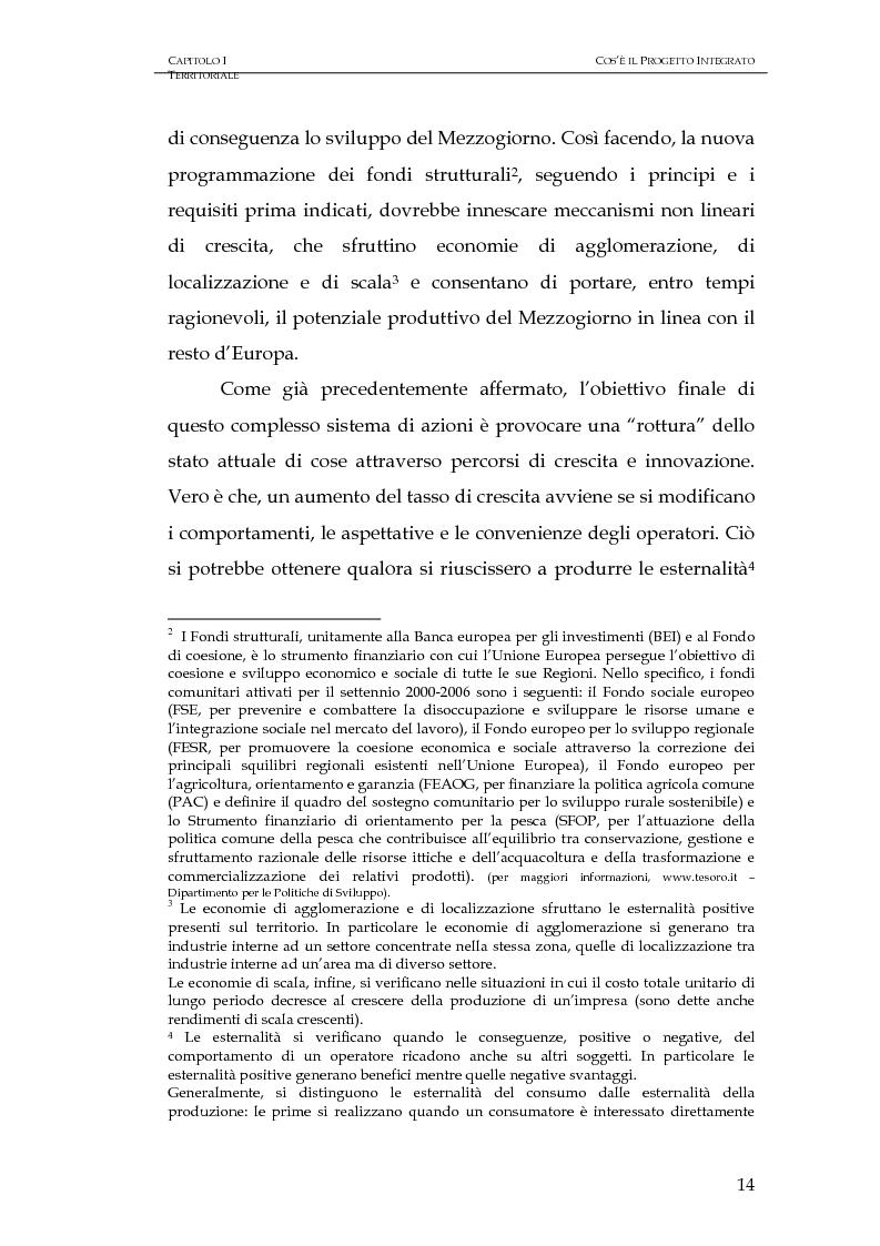 Anteprima della tesi: Progettazione integrata e sviluppo locale: il caso del PIT Locride, Pagina 7