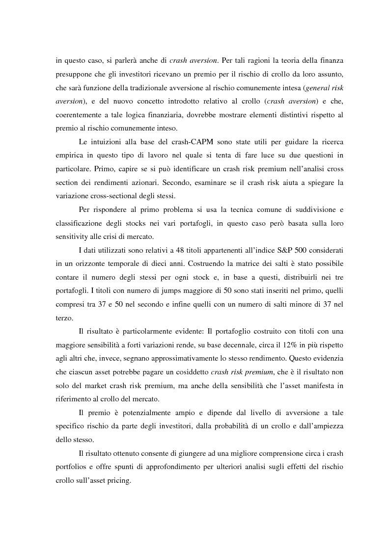 Anteprima della tesi: Allocazione di portafoglio e rischio di crash, Pagina 2