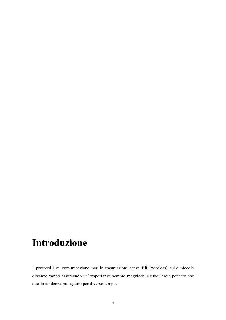 Anteprima della tesi: Interconnessione wireless di sensori per automazione industriale, Pagina 1
