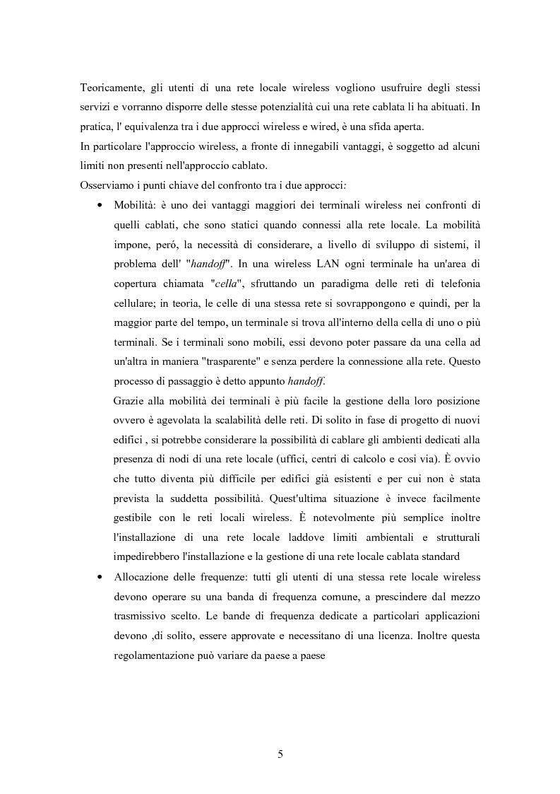 Anteprima della tesi: Interconnessione wireless di sensori per automazione industriale, Pagina 4