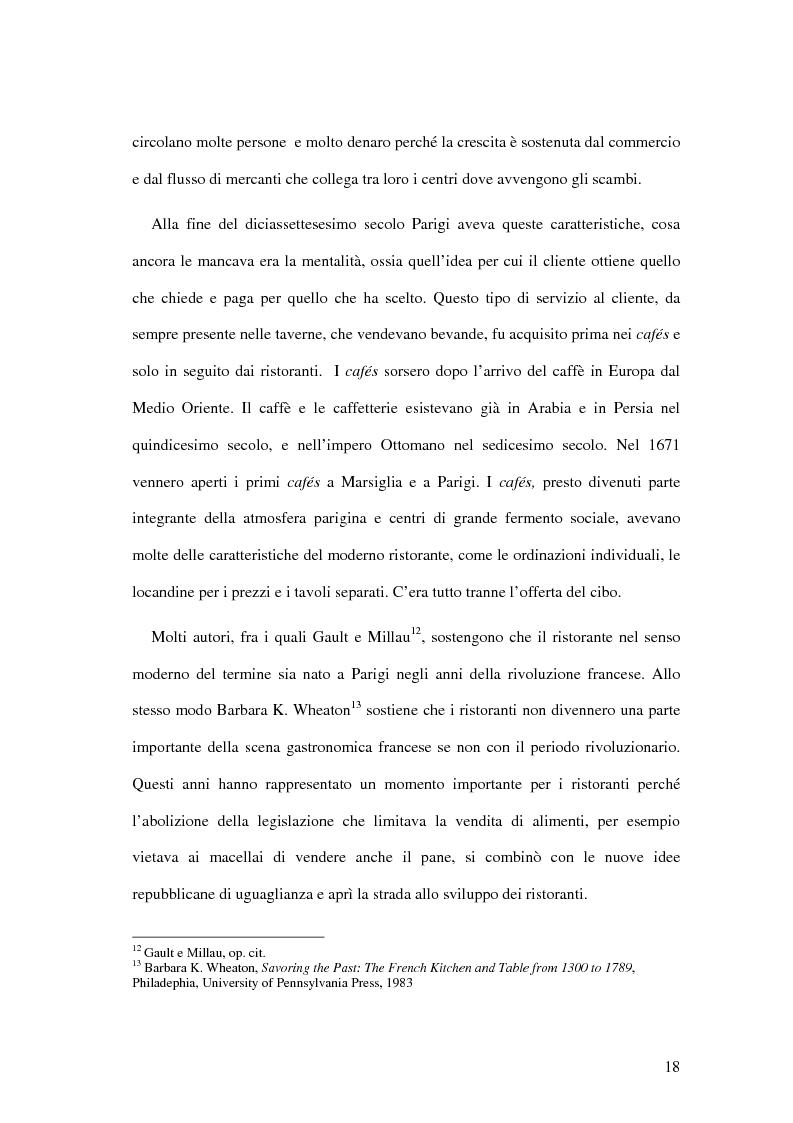 Anteprima della tesi: Il ristorante come sistema organizzativo, Pagina 10