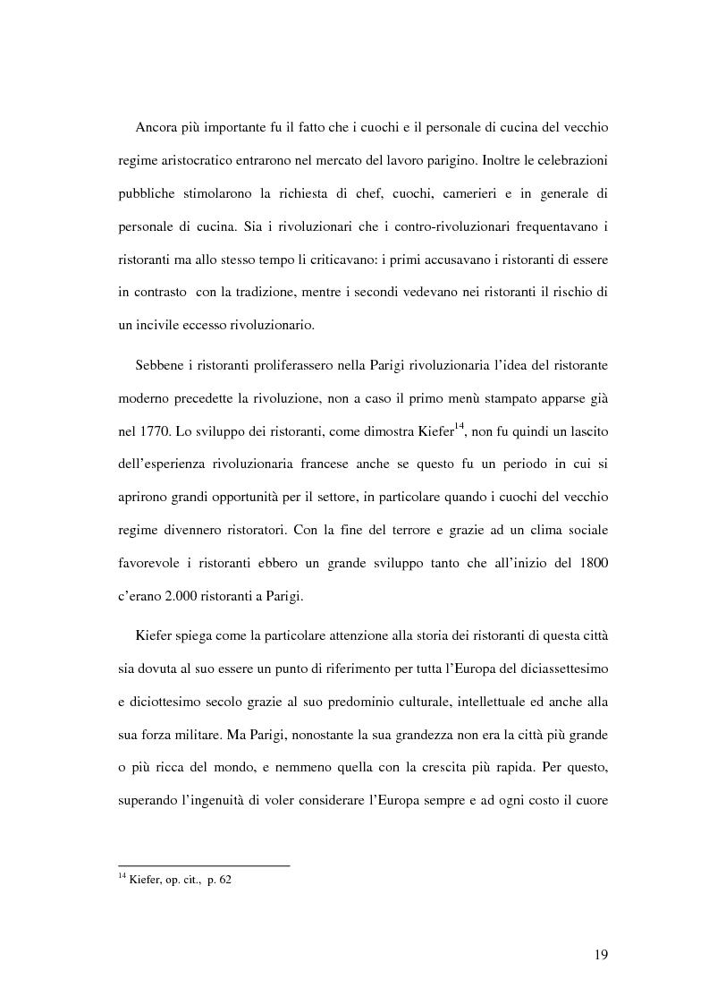Anteprima della tesi: Il ristorante come sistema organizzativo, Pagina 11